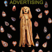 Scream Advertising Print by Eric Kempson