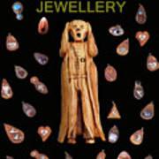 Scream Jewellery Art Print by Eric Kempson