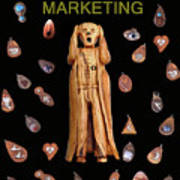 Scream Marketing Art Print
