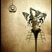 Scream Of A Butterfly Art Print
