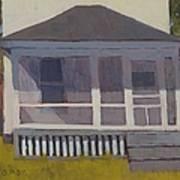 Screened Porch - Art By Bill Tomsa Art Print