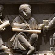 Scribes, 10th Century Art Print