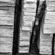 Sculpted Log Art Print