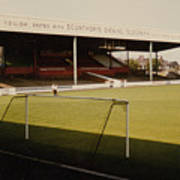 Scunthorpe United - Old Showground - Main Stand 2 - 1970s Art Print