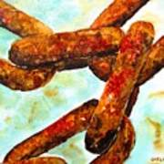 Sea Chain Art Print