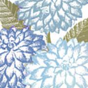 Sea Dahlias I Art Print