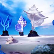 Sea Dancers Art Print