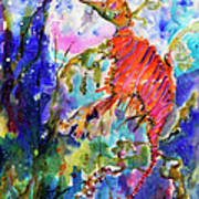 Sea Dragon Wonderland Print by Ginette Callaway