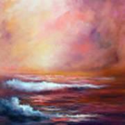Sea Dusk Art Print