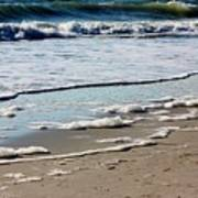 Sea Foam At The Shore Art Print
