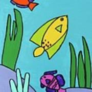 Sea Frolic Art Print