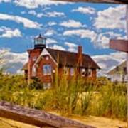 Sea Girt Lighthouse Art Print
