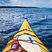 Sea Kayaking Art Print