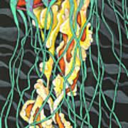 Sea Lightning Art Print