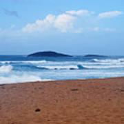 Sea Meets Beach Art Print
