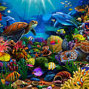 Sea Of Beauty Art Print