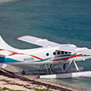 Sea Plane At Dry Tortugas National Park Art Print
