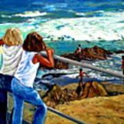 Sea Point Summer Art Print
