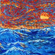 Sea Scene Art Print