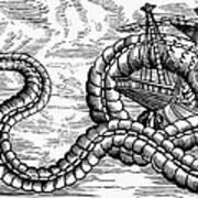 Sea Serpent, 1555 Art Print