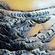 Sea Shaman Art Print