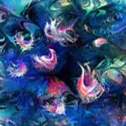 Sea Shells Art Print by Rachel Christine Nowicki