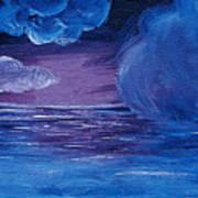 Sea Storm Art Print by Jera Sky