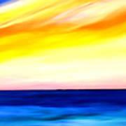 Sea Sweet Sky Art Print