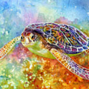 Sea Turtle 3 Art Print
