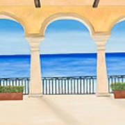 Sea View  Art Print