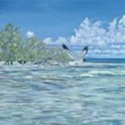 Seablue Art Print