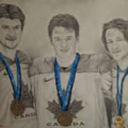 Seabrook Toews Keith Gold Medal Art Print
