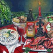 Seafood Soiree Art Print