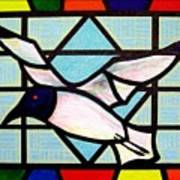 Seagull Serenade Art Print