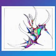 Seahorse Fun Art Print