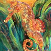 Seahorse - Spirit Of Contentment Art Print