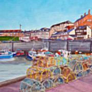 Seahouses IIi Art Print