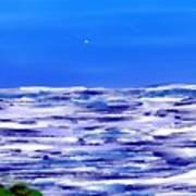 Sea.moon Light Art Print