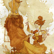 Seamstress Art Print