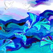 Seascape Adventures Art Print