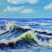 Seascape No.3 Art Print