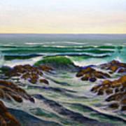 Seascape Study 6 Art Print