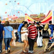 Seaside Heights Nj Art Print