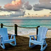 Seaside In Antigua Art Print
