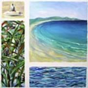 Seaside Memories Art Print
