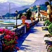 Seaside Pathway Art Print