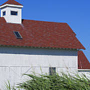 Seaside Schoolhouse Art Print