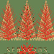 Season' Greetings 1 Art Print
