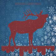 Seasonal Greetings Artwork Art Print