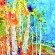 Seasonal Stream Of Consciousness Art Print